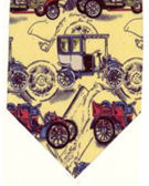 Classic cars on yellow - TIE STUDIO