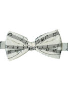 Sheet Music Bow Tie - TIE STUDIO