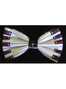 Music Piano Keys Bow Tie