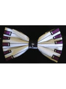 Music Piano Keys Bow Tie - TIE STUDIO
