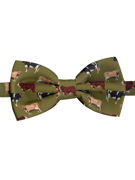 COWS on Green Bow Tie