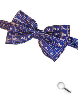 Periodic Table Bow Tie