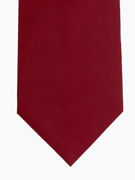Plain Burgundy Tie - TIE STUDIO