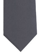 Plain Dark Grey Tie - TIE STUDIO