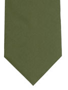 Plain Green Tie - TIE STUDIO