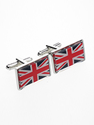 Union Jack Cufflinks - TIE STUDIO