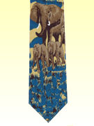 Safari Elephants - TIE STUDIO