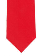 Plain Bright Red Tie - TIE STUDIO