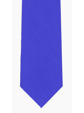 Plain Royal Blue Tie