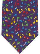 MUSIC - Notes colourful small - TIE STUDIO