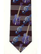 MUSIC - Guitars Blue - TIE STUDIO