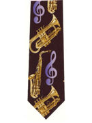 MUSIC - Sax and brass instruments - TIE STUDIO