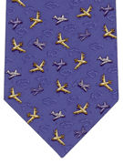 Commercial Planes on Light Blue - TIE STUDIO
