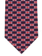 Union Jack Tie (Small) - TIE STUDIO