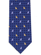 CATS - on blue squares - TIE STUDIO