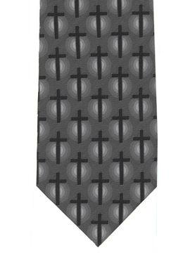 Crosses on grey