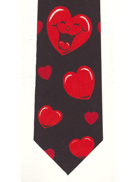 Laughing Hearts Tie