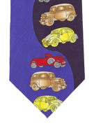 Cars - two tone - TIE STUDIO