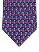 Chess - red and blue - TIE STUDIO