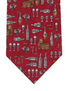 Wine Accessories Burgundy - TIE STUDIO