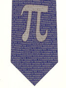 PI symbol on navy - TIE STUDIO