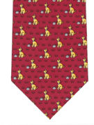 Pet Dogs Burgundy - TIE STUDIO
