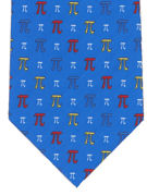 PI symbol repeat Blue - TIE STUDIO