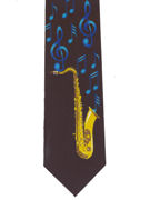 MUSIC - Saxophone & Blue Notes - TIE STUDIO