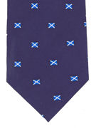 Scotland Flag silk  - TIE STUDIO