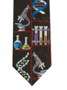 DNA Researcher Tie - TIE STUDIO
