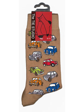 Morris Minor socks