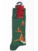 Pheasant Flying socks - TIE STUDIO