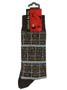 Periodic Table Socks - TIE STUDIO