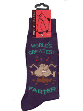 Worlds Greatest Farter Socks