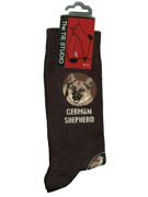 German Shepherd Socks - TIE STUDIO
