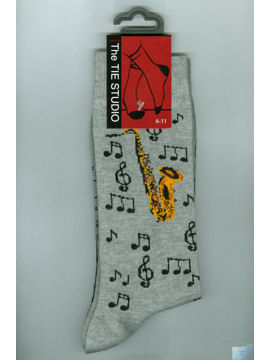 Saxophone Socks - SOLD OUT Available end of January.