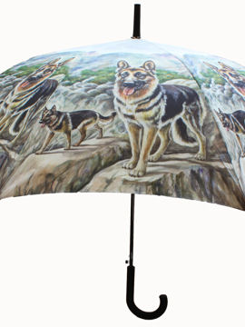 Umbrella - German Shepherd - TIE STUDIO